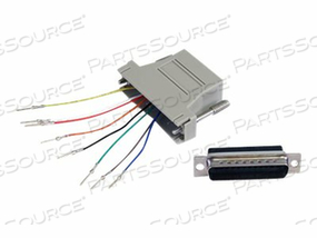 STARTECH.COM DB25 TO RJ45 MODULAR ADAPTER - M/F - SERIAL ADAPTER - DB-25 (M) TO RJ-45 (F) by StarTech.com Ltd.