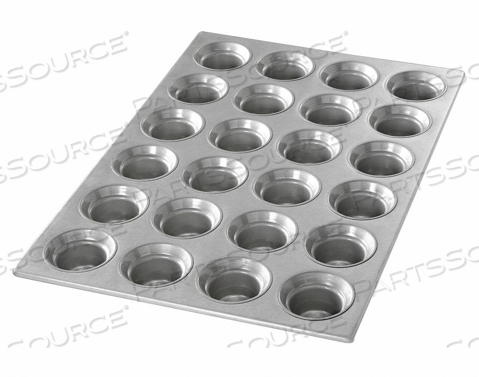 MINI CROWN MUFFIN PAN 24 MOULDS by Chicago Metallic