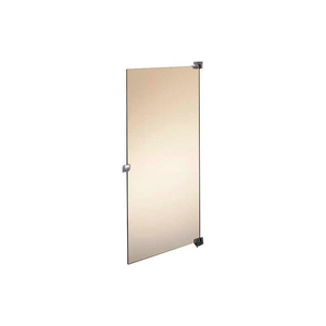 """PHENOLIC BLACK CORE OUT SWING PARTITION DOOR W/ HARDWARE - 36""""W NEUTRAL GLACE by Global Partitions"""