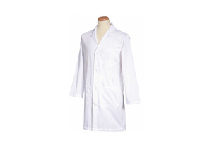 LAB COAT WHITE 40-1/2 IN L by Fashion Seal
