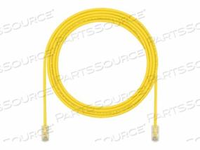 PANDUIT TX5E-28 CATEGORY 5E PERFORMANCE - PATCH CABLE - RJ-45 (M) TO RJ-45 (M) - 14 FT - UTP - CAT 5E - IEEE 802.3AF/IEEE 802.3AT - HALOGEN-FREE, SNAGLESS, STRANDED - YELLOW - (QTY PER PACK: 25) by Panduit