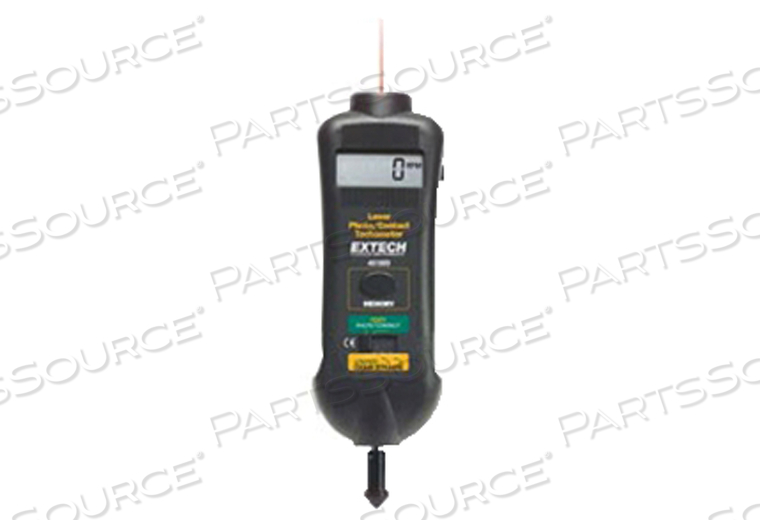 COMBINATION PHOTO/CONTACT AND NON-CONTACT TACHOMETER FOR RPM MEASUREMENT by BC Group International, Inc. (BC Biomedical)