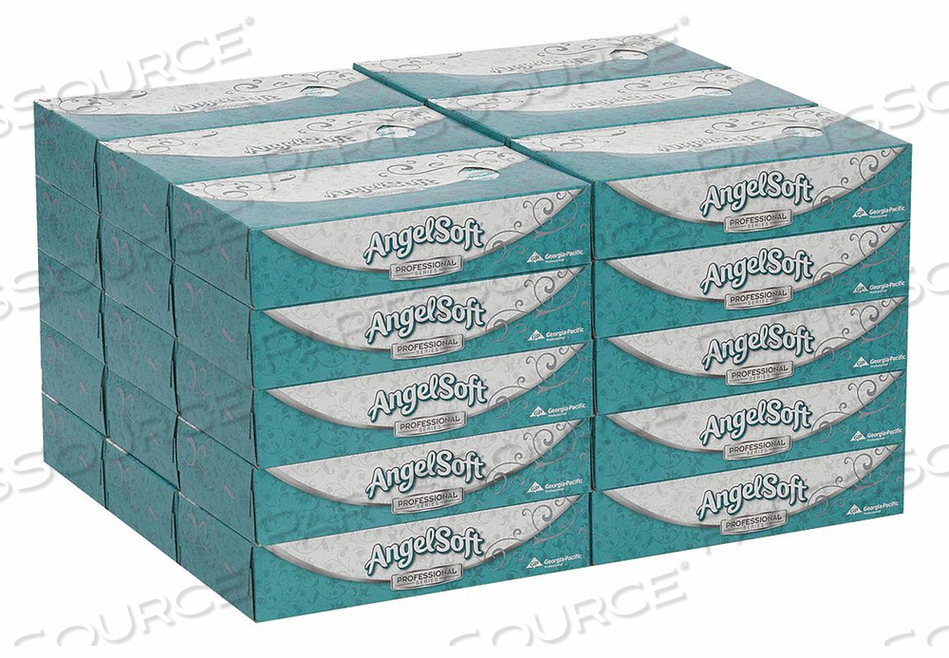 FACIAL TISSUE ANGEL SOFT PS FLAT PK30 by Georgia-Pacific