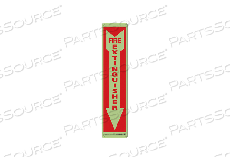 J7050 SAFETY SIGN 4 W 18 H 0.330 THICK PK6 by Condor