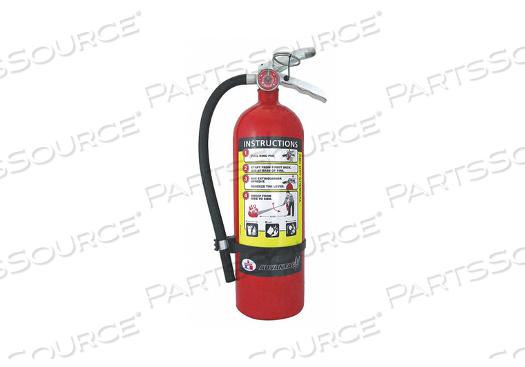 FIRE EXTINGUISHER DRY CHEMICAL BRACKET by Badger