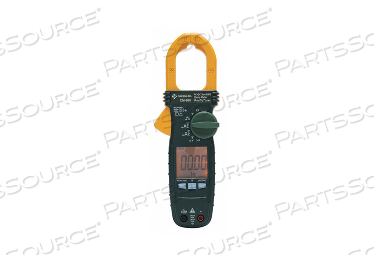 CLAMP METER AC/DC 600 AMP by Greenlee