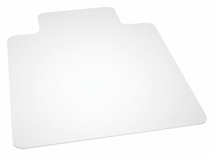 CHAIR MAT RECTANGLE CLEAR 45 X 53 by Skilcraft