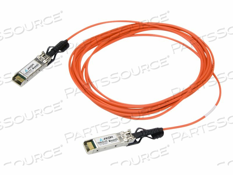 AXIOM - 10GBASE-AOC DIRECT ATTACH CABLE - SFP+ TO SFP+ - 3 M - FIBER OPTIC - ACTIVE by Axiom