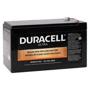 BATTERY, SEALED LEAD ACID, 12V, 9 AH, FASTON (F2) by Duracell