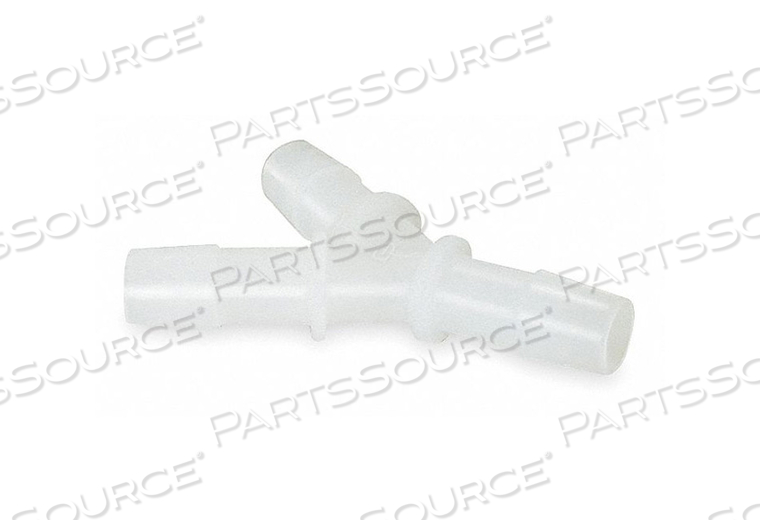 Y CONNECTOR 1/8 IN BARBED HDPE PK10 by Eldon James