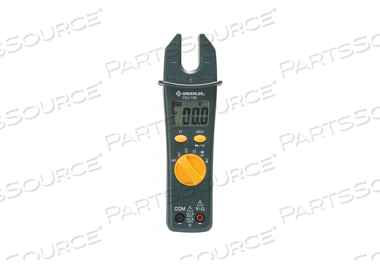 CSJ-100 OPEN JAW CLAMP METER QIA by Greenlee