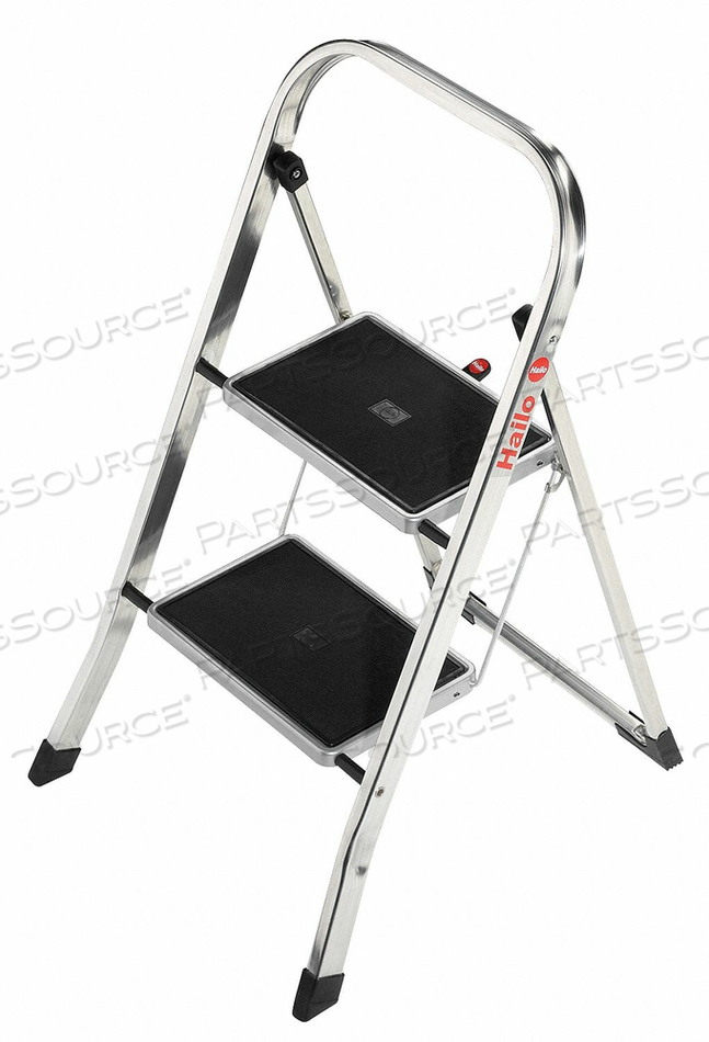 HOUSEHOLD STEP STOOL 11-7/8 IN W 330 LB by Hailo