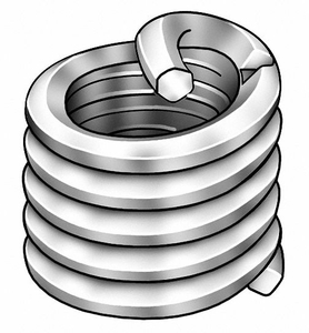 HELICAL INSERT 6-32X0.207 L PK100 by Heli-Coil