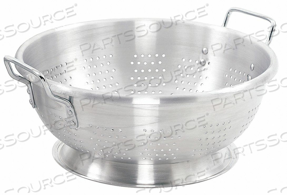 COLANDER 16 QT. 7-1/4 IN H ALUMINUM by Crestware