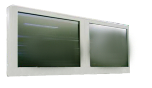 """18"""" RIGHT TOUCHSCREEN MONOCHROME MONITOR by OEC Medical Systems (GE Healthcare)"""