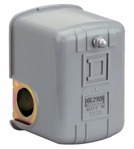 PRESSURE SWITCH DPST 60/80 PSI 1/4 FNPS by Square D