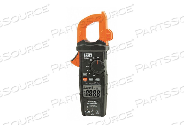 DIGITAL CLAMP METER AC AUTO-RANGING 600A by Klein Tools