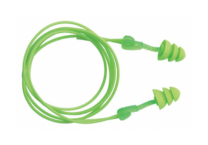 EAR PLUGS CORDED FLANGED 27DB PK50 by Moldex