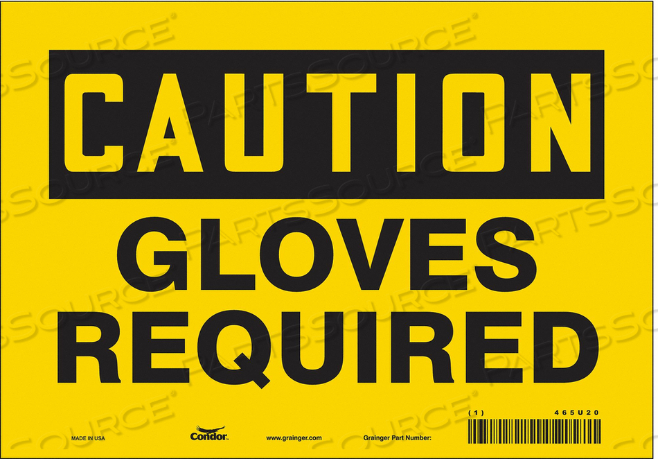 K2006 SAFETY SIGN PERSONAL PROTECTION 7 H by Condor