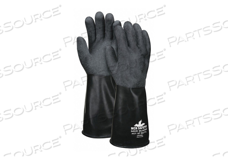 CHEMICAL RESISTANT GLOVE XL BLACK PR by MCR Safety