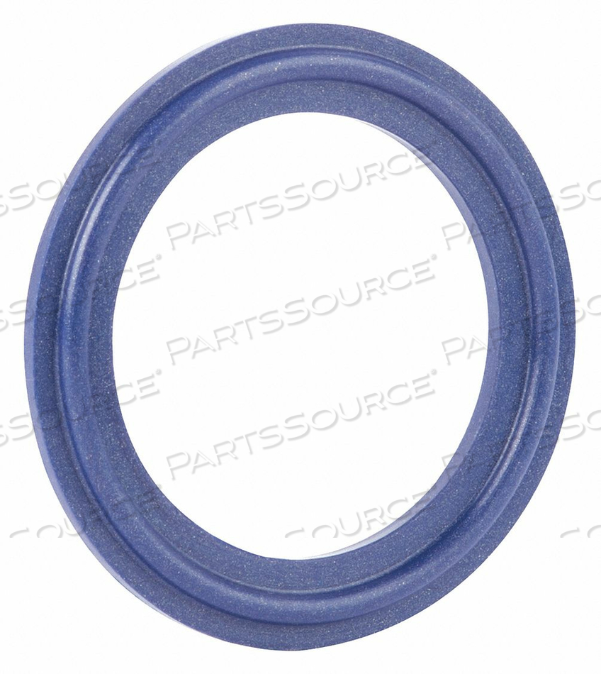 SANITARY GASKET 1IN TRI-CLAMP SILICONE by Rubberfab