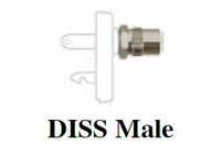 OXYGEN, QUICK CONNECT FITTING, DISS MALE CONNECTION by Precision Medical, Inc.