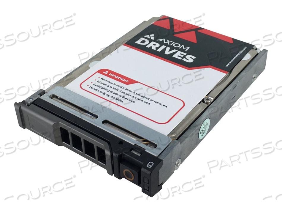 "AXIOM ENTERPRISE - HARD DRIVE - 900 GB - HOT-SWAP - 2.5"" SFF - SAS 12GB/S - 15000 RPM - BUFFER: 256 MB - FOR DELL EMC POWEREDGE FC640, POWEREDGE FC630, FC830, M520, M620, M630, M820, M830, M915, VRTX"