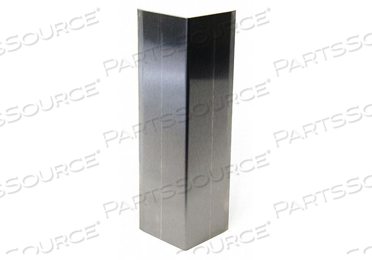CORNER GRD 2IN.W STAINLESS NO4 SATIN by Pawling Corp