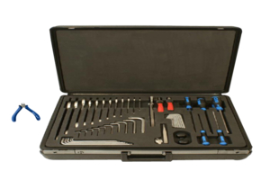 NON-MAGNETIC STANDARD TOOL KIT, STEEL WITH 1/16, 3/32 IN, 2, 2.5, 3, 4, 5, 6, 8 AND 10 MM HEX KEY WRENCHES by Siemens Medical Solutions