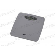 DIGITAL BATHROOM SCALE, 400 LB X 0.1 LB, 1 -1/4 IN LCD DISPLAY by Health o meter Professional Scales