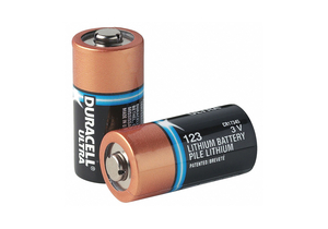 BATTERY, 123, LITHIUM, 3V, 1470 MAH (PACK OF 10) by Duracell