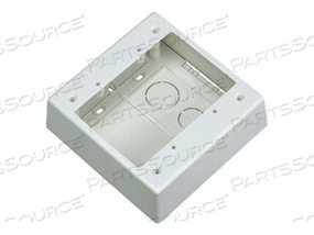 PANDUIT PAN-WAY LOW VOLTAGE SURFACE MOUNT OUTLET BOX - SURFACE MOUNT BOX - OFF WHITE by Panduit