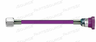 CONDUCTIVE HOSE ASSEMBLY, WAGD, 1/4 IN ID, PURPLE, DISS HEX NUT X FEMALE CONNECTION, 4 FT by Amvex (Ohio Medical, LLC)