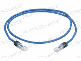 PANDUIT PANZONE - PATCH CABLE - RJ-45 (M) TO RJ-45 (M) - 120 FT - UTP - CAT 6E - IEEE 802.3AF/IEEE 802.3AT/IEEE 802.3BT - PLENUM, SNAGLESS, SOLID - BLUE by Panduit