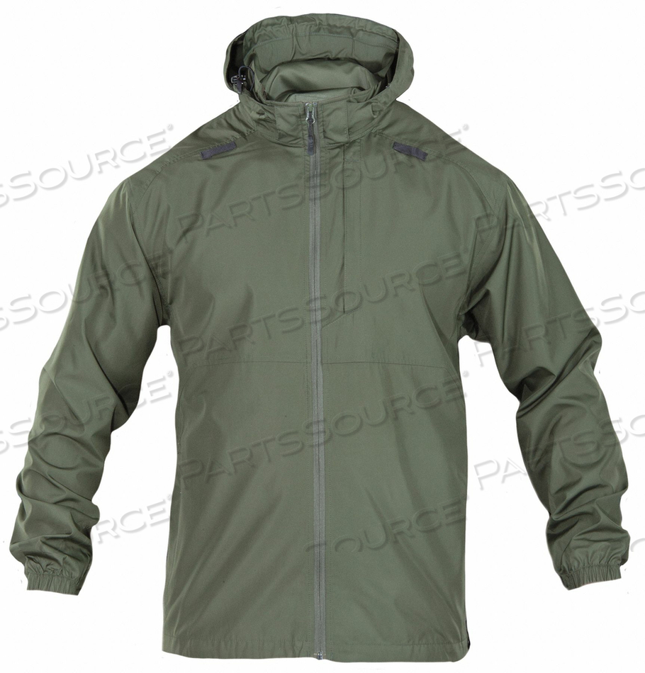 PACKABLE OPERATOR JACKET XS SHERIFF GRN by 5.11 Tactical