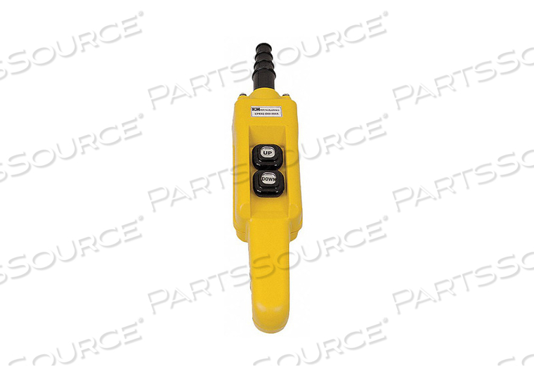 PENDANT STATION 2 PUSH BUTTON NO YELLOW by KH Industries