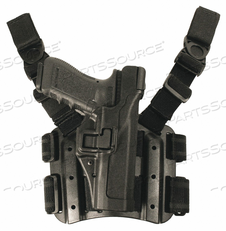 TACTICAL HOLSTER LH USP FULL SIZE 9/40 by Blackhawk