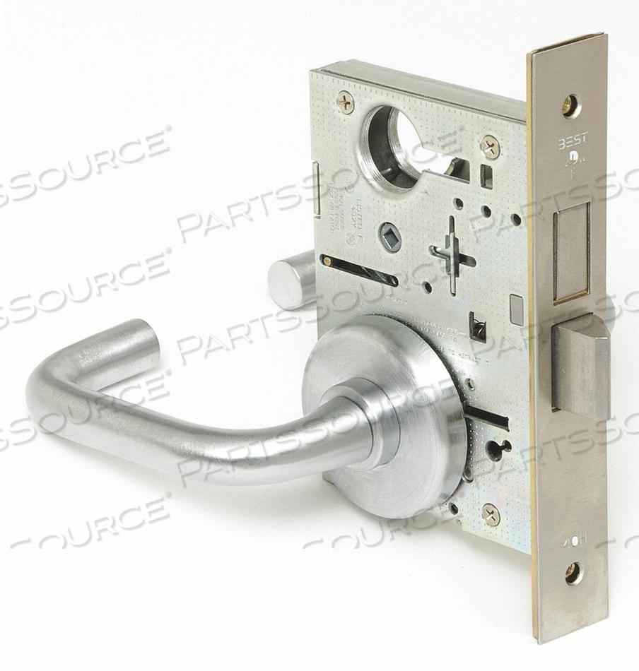 LEVER LOCKSET MECHANICAL PRIVACY GRD. 1 by Best