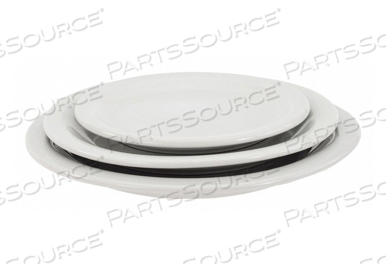 PLATE 9-1/2 IN. BRIGHT WHITE PK24 by Crestware