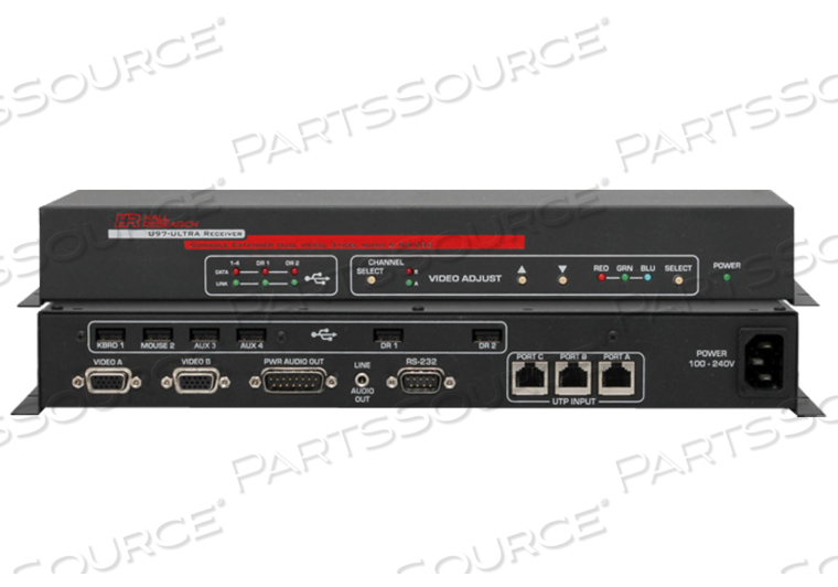 ALL-IN-ONE CONSOLE EXTENDER RECEIVER by Hall Research Inc.