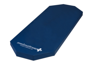 "PREMIUM REPLACEMENT MEDCOMFORT STRETCHER MATTRESS - SIZE: 27"" X 75"" X 3"" - 2 CORNERS TAPERED (8"" TAPERS AT HEAD) by DiaMedicalUSA"