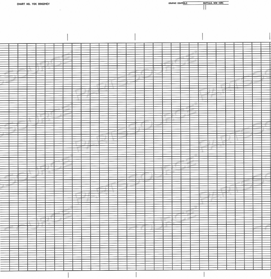 CHART FANFOLD RANGE 0 TO 100 99 FT by Graphic Controls, LLC