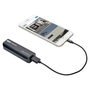 PORTABLE 1-PORT USB BATTERY CHARGER MOBILE POWER BANK 2.6K MAH by Tripp Lite