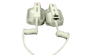 APEX/STERNUM EXTERNAL PADDLE ASSEMBLY WITH CONTROL AND BUILT-IN PEDIATRIC ELECTRODE by ZOLL Medical Corporation