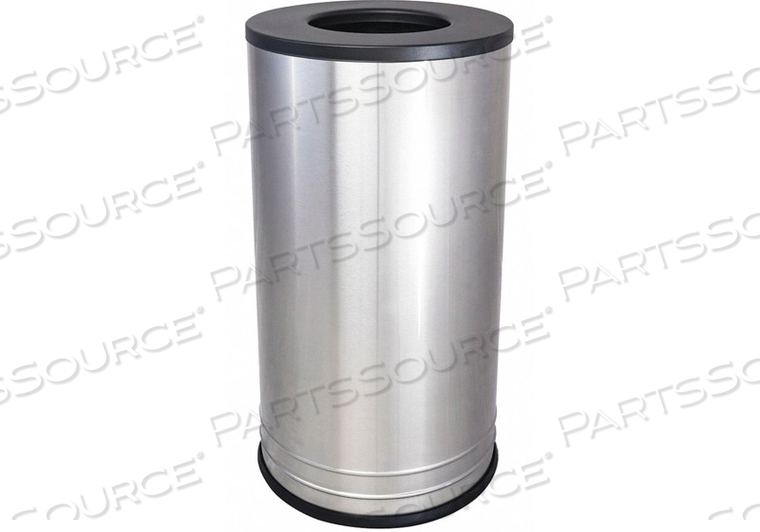 TRASH CAN ROUND 18 GAL. SILVER by Tough Guy