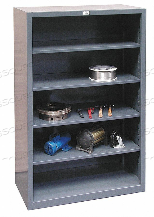 METAL SHELVING CLOSED 72 H 6 SHELF by Strong Hold