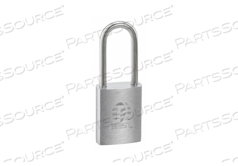 PADLOCK 7/8 IN RECTANGLE SILVER by Best