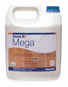 FLOOR FINISH SATIN 1 GAL. 2 TO 3 HR. by Bona