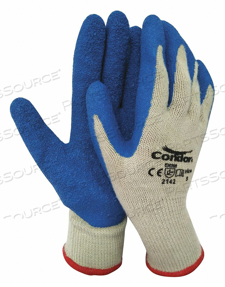 COATED GLOVES COTTON/POLYESTER S PR by Condor