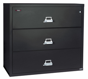 LATERAL FILE 3 DRAWER 31-3/16 IN W by Fire King